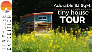 Adorable 93 Sqft Tiny House w/ Gym + Amazing Outdoor Shower