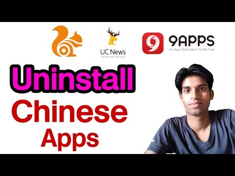 Boycott china apps - Alibaba Group Product UC Browser 9Apps etc