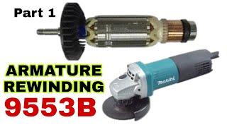 Armature Rewinding 9553B Makit…