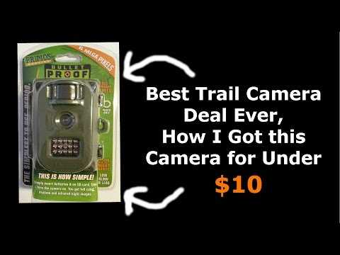 Best Trail Camera DEAL Ever, Wal-Mart Screwed Up Price!!!