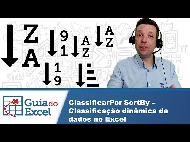 Classificarpor SortBy Excel - Classificar lista dinamicamente