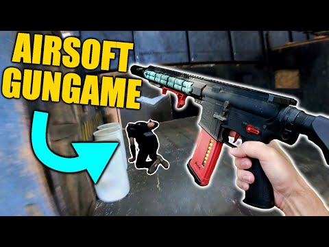 Call Of Duty GUNGAME In AIRSOFT!