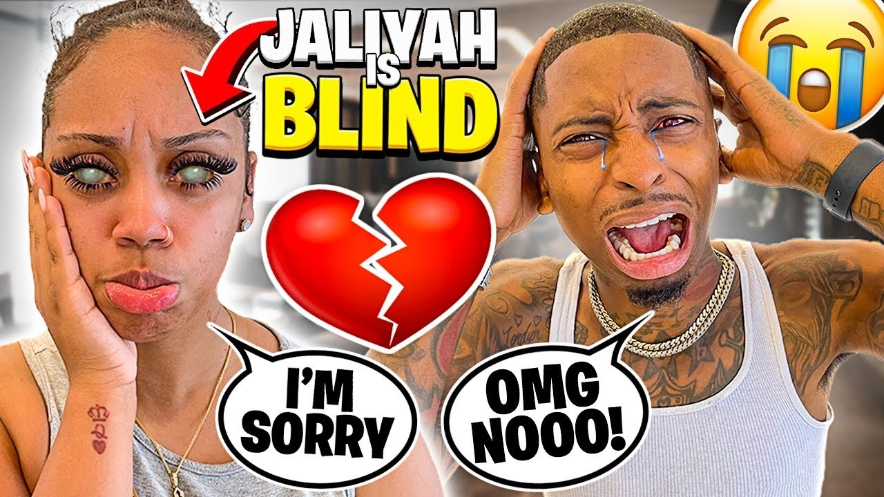 JALIYAH IS GOING BLIND AFTER CRAZY EYELASHES!💔 (SHE NEEDS SURGERY)