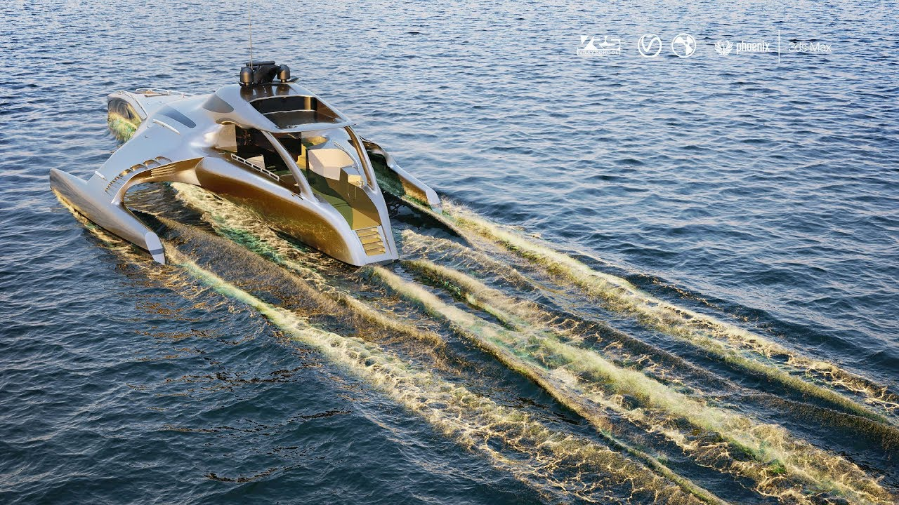 Ocean Sailing with Phoenix FD for 3Ds max and VRay NEXT