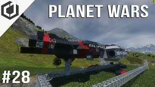 Space Engineers | PLANET WARS EP 28 | Eclipse!