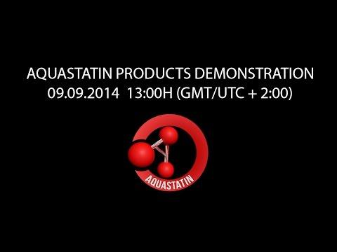 Aquastatin Products Presentation (Demonstration)