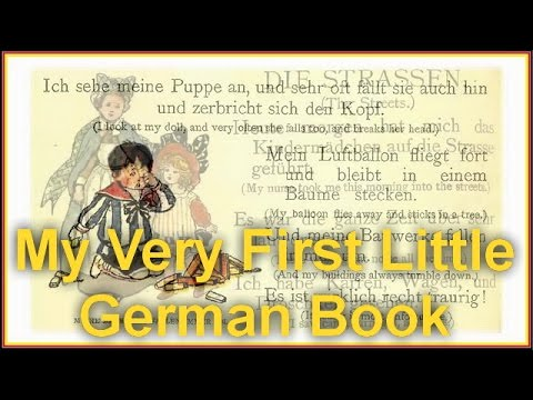 My Very First Little German Book  By General Fiction Audiobooks