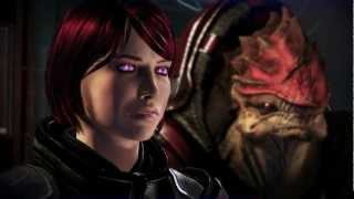 Mass Effect 3 - Shepard's Clone Insults Crew Members(Citadel DLC)