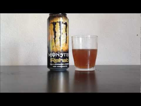 Monster Rehab - Energy Drink Review