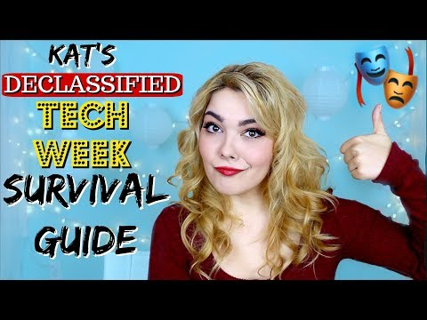 Tech Week Survival Guide | Tips & Advice for Actors!