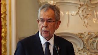 Demissionierung und Rede des Bundespräsidenten Van der Bellen