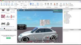 Roblox Car Tutorial - How to Tune and put on A-Chassis