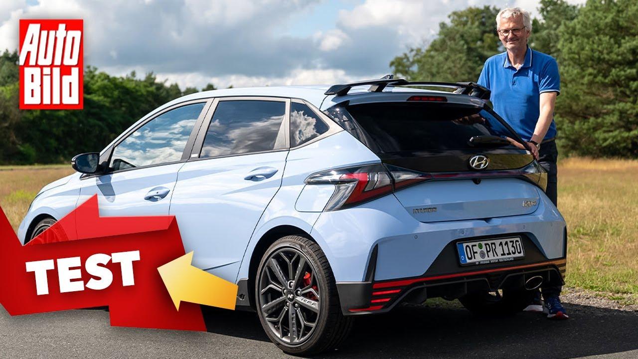 Hyundai i20 N (2021)   Rennfeeling im neuen i20 N   Erste Fahrt mit Dirk Branke