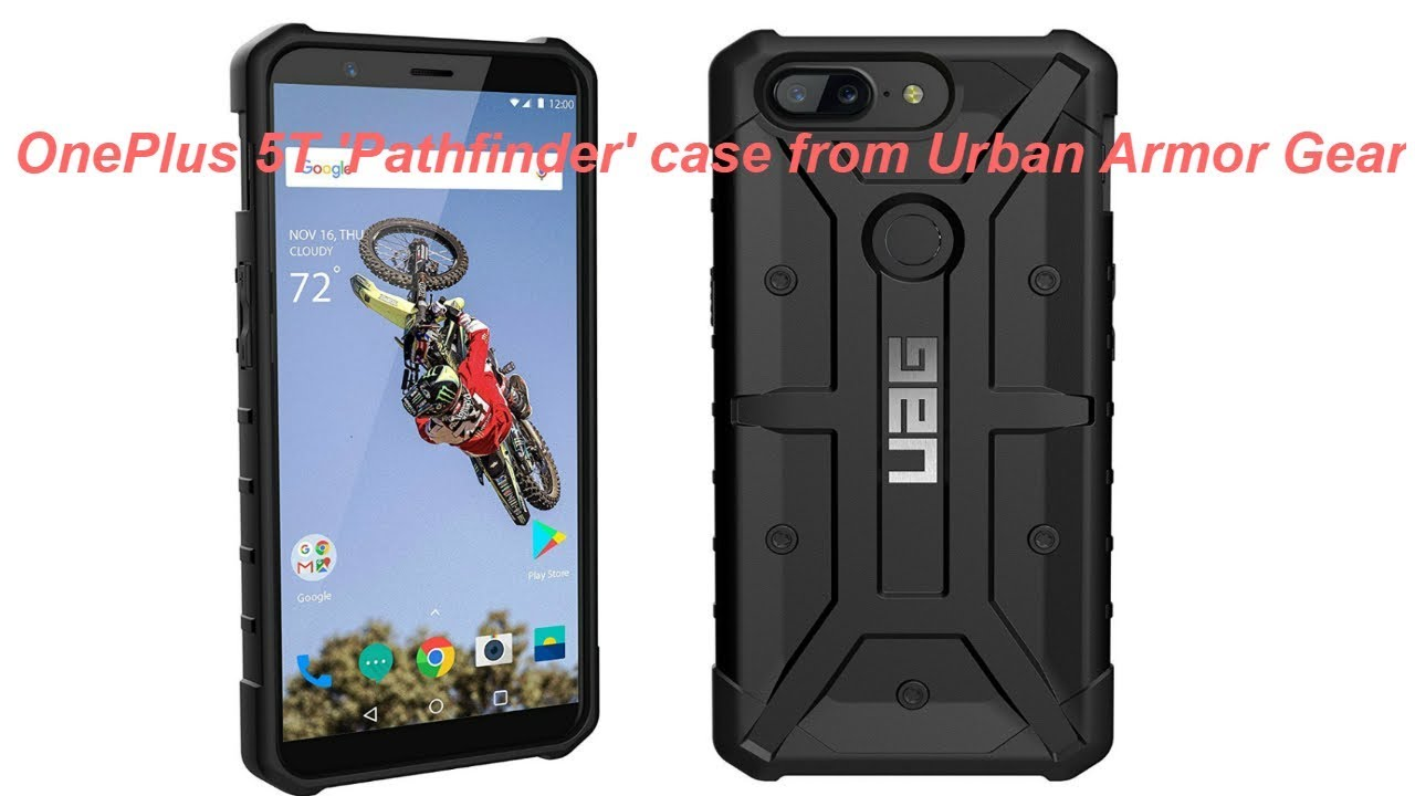 online store 39c08 06cfc UAG Pathfinder Case for the OnePlus 5T