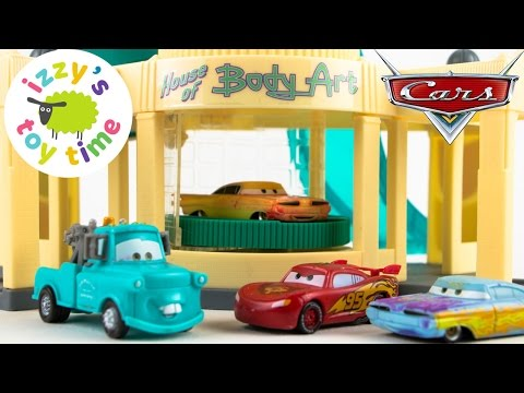 Thumbnail: Cars for Kids | Disney Pixar Cars Ramone's Color Changer Playset - Fun Toy Cars for Kids