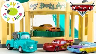 Cars  | Disney Pixar Cars Ramone's Color Changer Playset - Fun Toy Cars