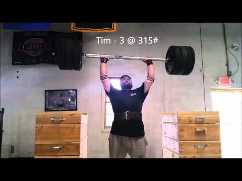 Mongrel and Equity: Axle Push Press with Tim