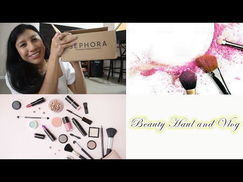 Vlog #1 + Sephora VIB Sale Items + Macy's Beauty Box Haul