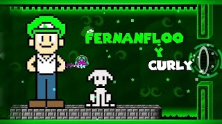 MI PROPIO NIVEL #2 - Geometry Dash 2.0 | Fernanfloo