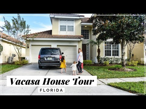 Vacasa Vacation Rental House Tour in Kissimmee Where To Stay At Walt Disney World Orlando Florida