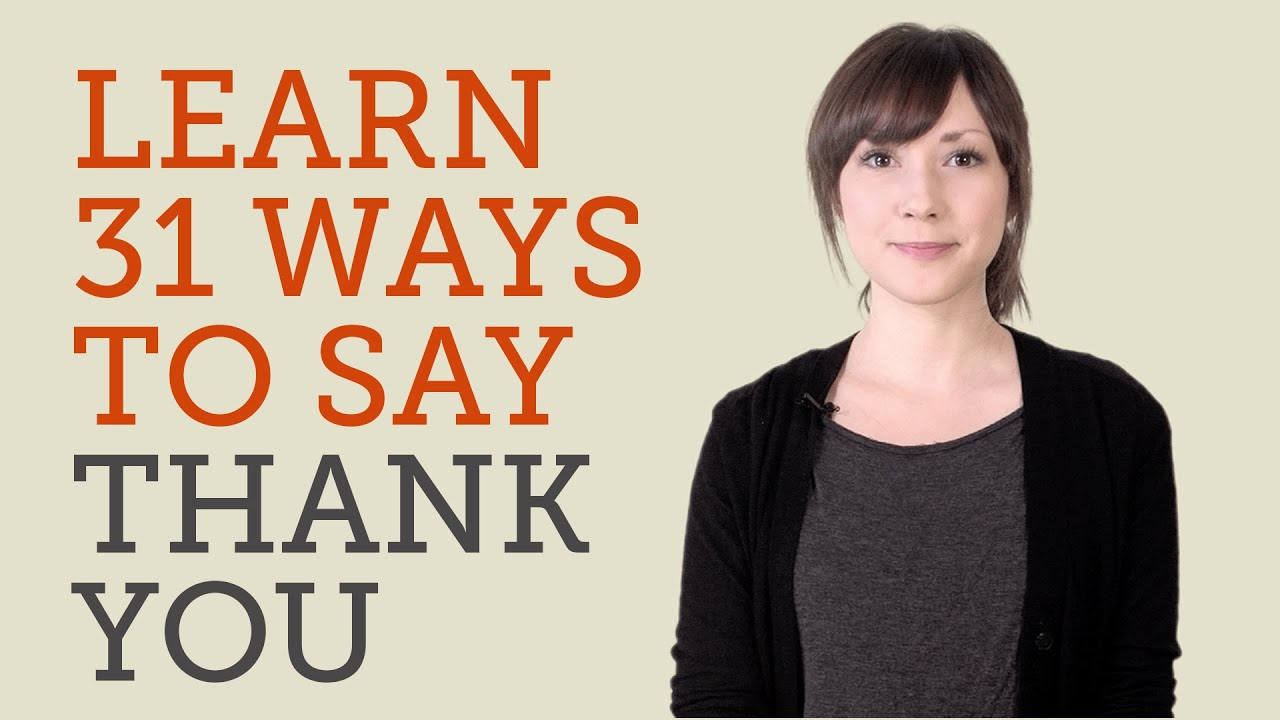 How To Say Thanks To A Girl