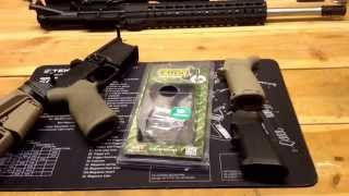 Gambar cover Ergo Grips Deluxe Tactical Overview and Comparison to BCM Mod 3 and Standard A2 Grips