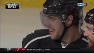 Anze Kopitar Scores on Frederik Andersen | Kings Trail Maple Leafs 2-1