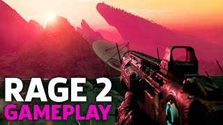 8 Minutes of Rage 2 Gameplay | QuakeCon 2018