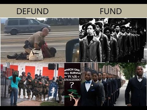 DEFUND THE POLICE and FUND COMMUNITY SECURITY SERVICES