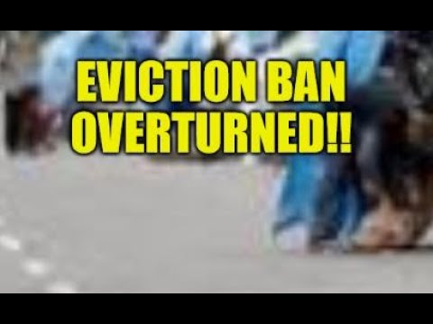 EVICTION BAN OVERTURNED!! CANCEL RENT GETS CANCELLED, HOMELESS SURGE COMING? HOUSING CRISIS UPDATE