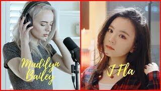Shape Of You - Jfla vs Madilin Bailey (Cover Battle)