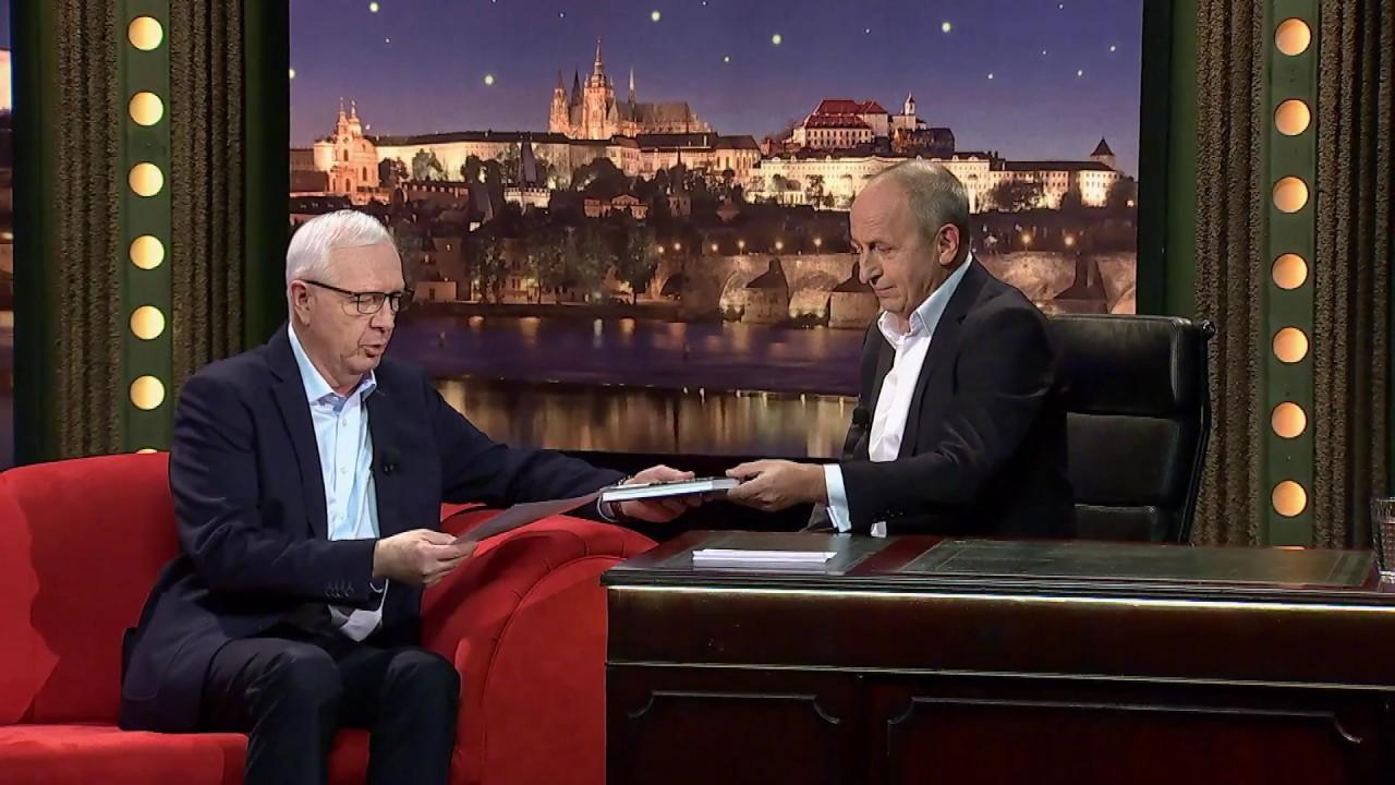 1. Jiří Drahoš - Show Jana Krause 31. 1. 2018