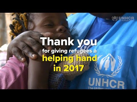 Thank you for giving refugees a helping hand - UNHCR