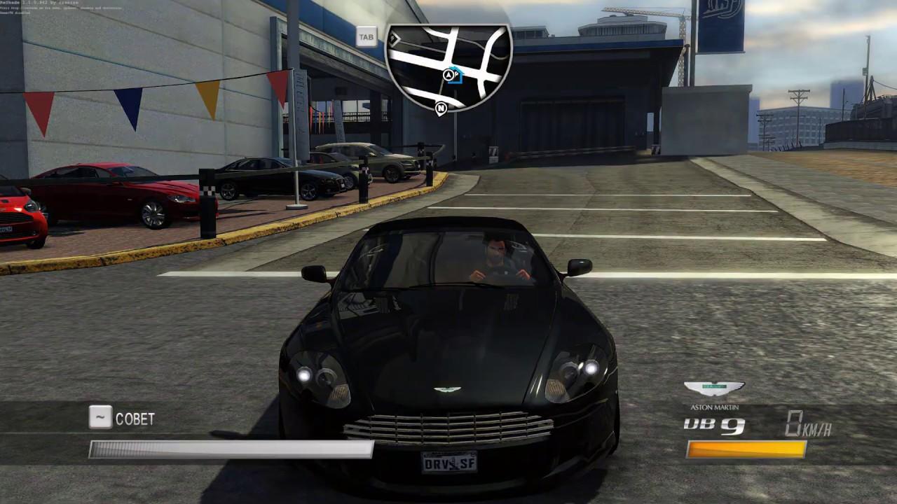 Driver San Francisco Aston Martin Db9 Volante Youtube