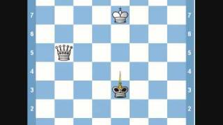 Chess Endgame- King and Queen