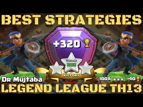 LEGEND LEAGUE TH 13 !th 13 Legend League Attack Strategy ! Clash Of Clans