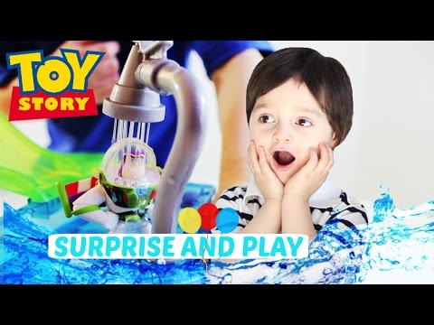 Disney Toy Story Slide and Surprise Playset with Color ...