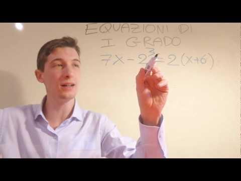 Equazioni di primo grado: tutto quello che c'è da sapere! from YouTube · Duration:  10 minutes 38 seconds