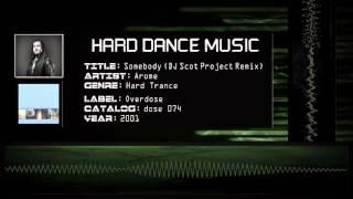 Arome - Somebody  Dj Scot Project Remix   Hq