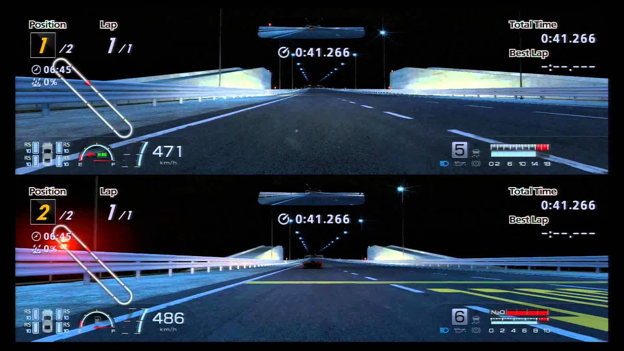 Gran Turismo 6 – 2P split screen – Special Stage Route X - McLaren F1 Top  Speed test