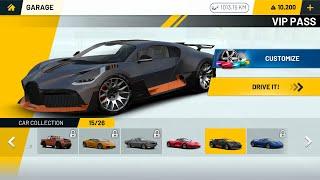 unlock Bugatti in Extreme car driving simulator screenshot 4