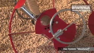 Der Maulwurf - Fördertechnik für Pellets