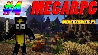 Minecraft MEGARPG #4 MineSerwer - Tylko PARTY Nas Uratuje - z Michal01010