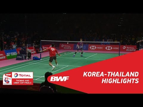 TOTAL BWF Thomas & Uber Cups Finals 2018 | Badminton - Thomas Cup Group B - Highlights | BWF 2018