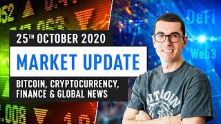 Bitcoin, Ethereum, DeFi & Global Finance News - October 25th 2020