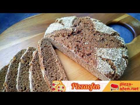 Brotbacken im Pizzaofen G3 Ferrari Delizia Pizzamaker - wie aus dem Holzbackofen