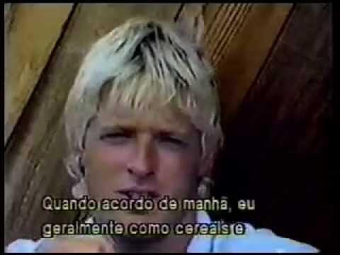 Realce Surf  perfil Cheyne Horan Profile + Interview Sunset 1987 Billabong Pro + Halleiwa 1988