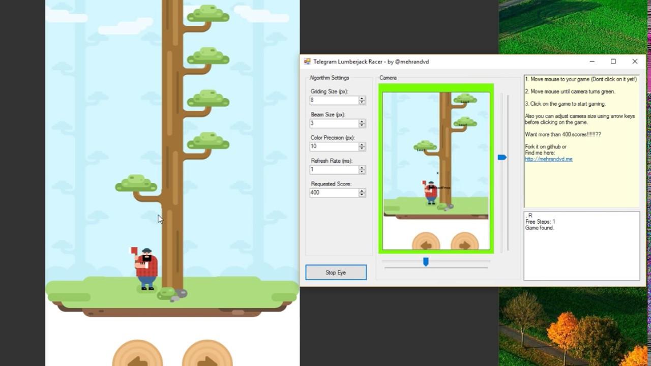 Cheating Telegram Lumberjack! - Dot Philosophy