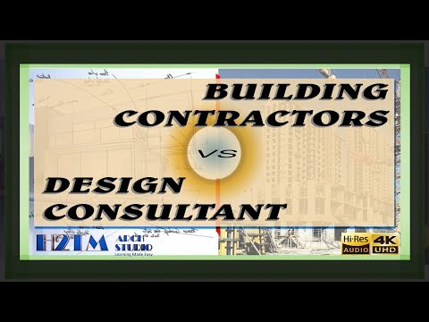 H2TM Arch Studio Learnings_4K Video_Design Consultant vs Building Contractors-hindi Language