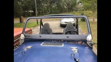 Jeep CJ Windshield Install